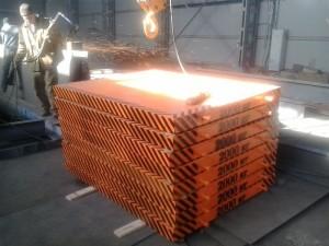 Контрольно испытательные груза от производителя металлоконструкций   Контрольные груза 2000кг